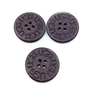UGG Wooden Replacement Buttons